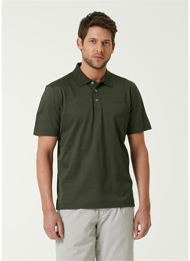 Canali Polo Yaka T-shirt Yeşil